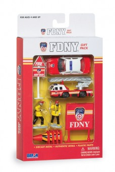 Fire Department of New York (FDNY) 10 Piece Gift Set RT8740