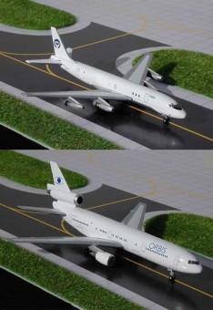 Set of two Orbis Flying Hospital DC-10 & DC-8 Set GJORB238 scale 1:400