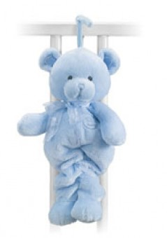 MY 1ST TEDDY PULL STRING MUSICAL BLUE 13""