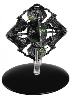 Borg Queen's Ship Octahedron-shaped starship Star Trek collection die cast by Eagle Moss EM-ST0109