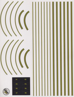 GJAPS007 Airport Mat Graphic 1:400 Scale Decal sheet
