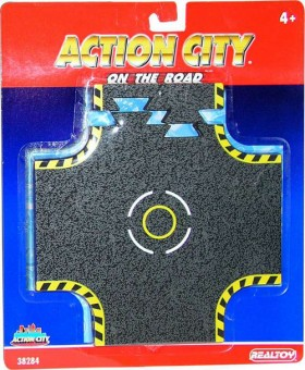 Action City On The Road Crossroad Tracks RT38284