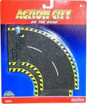 Action City On The Road Curve Tracks RT38283