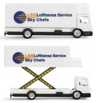 Herpa Catering Truck Lsg Lufthansa Sky Chefs HE550987