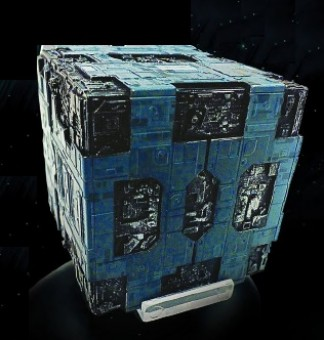 Borg Tactical Cube Star Trek Universe EagleMoss Die-Cast EM-ST0058