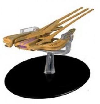 Xindi Reptilian Warship Star Trek Universe Eagle Moss Die-Cast EM-ST0081