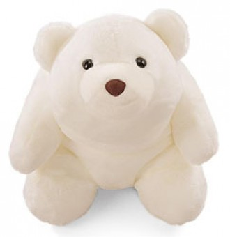 SNUFFLES WHITE MEDIUM  8""