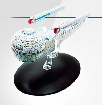 USS Star Trek Universe by Eagle Moss Die-Cast Display Model with stand EM-ST0042