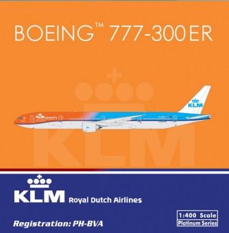 KLM  Boeing B777-300ER Registration PH-BVA  Phoenix Diecast  11286 Scale 1:400