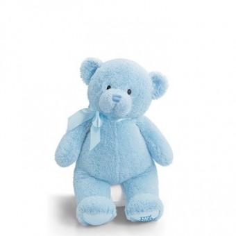 "Gund MY 1ST TEDDY LARGE - BLUE 18"""