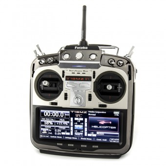 Futaba 18MZ World Championship Transmitter – 18-Channel Computer System Helicopter T18MZ-WC 01004352-1 with R7008SB Receiver