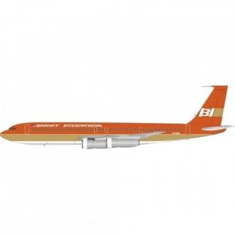 Braniff International Boeing 707-300 Orange N7098 InFlight IF707BN0719 scale 1:200