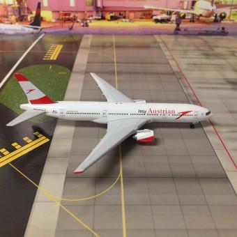 "Austrian Boeing B777-200ER ""Servus HK""  Reg# OE-LPD Phoenix 04109 Diecast Scale 1:400"