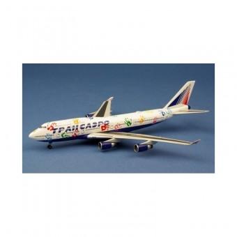 Transaero Airlines Boeing 747-412 EI-XLK Model WT4744026