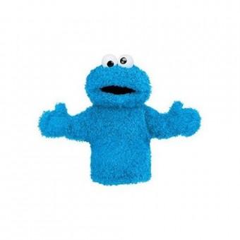 """Sesame Street  Cookie Monster Hand Puppet 11"""""""