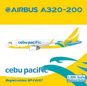 Cebu Pacific Airbus A320 Reg# RP-C4107 Phoenix 11243 Scale 1:400