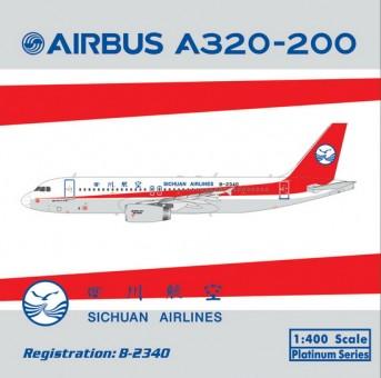 Sichuan Airlines Airbus A320 Reg# B-2340 四川航空  Phoenix 11236 1:400