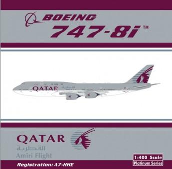 Qatar Airways Boeing 747-8i القطرية Reg# A7-HHE Phoenix 11239 Scale 1:400
