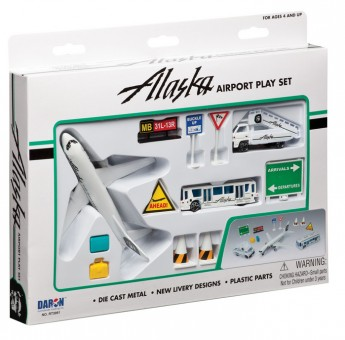Alaska Airlines Airport Play Set RT3991