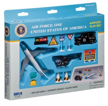 Air Force One United States of America 12 Piece Airport Play Set RT5731