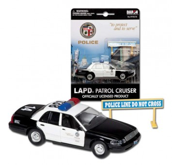 Los Angeles Police Department (LAPD) Crown Victorian Police Car/ Patrol Cruiser RT8315 Scale 1:43