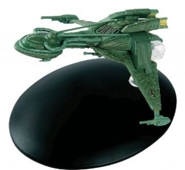 Klingon Bird-of-Prey  Star Trek Universe by Eagle Moss Die-Cast Display Model with stand EM-ST0035