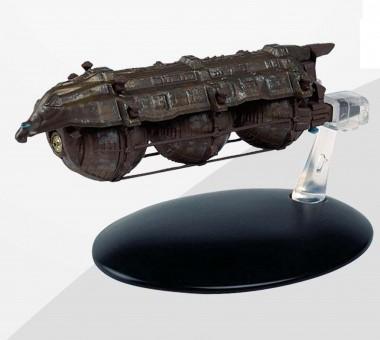 Malon Freighter Star Trek Universe EagleMoss Die-Cast w/stand EM-ST0045