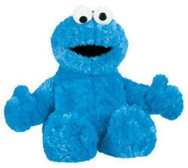 "Sesame Street  Character COOKIE MONSTER 12"""