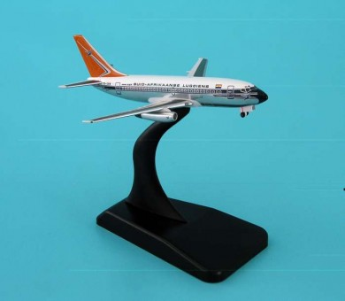 Aviation Models South African Airways 737-200 Polished