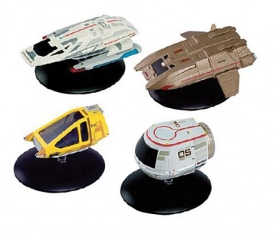 4 pack Shuttlecraft collection set# 3 Star Trek Universe EagleMoss Die-Cast EM-STSHTL3