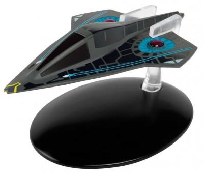 UTS Aeon Federation Timeship Star Trek Die-Cast by Eagle Moss EM-ST0087