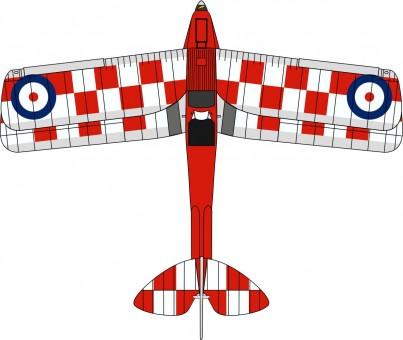 De Havilland DH.82A Tiger Moth – No. 32 Squadron, K2585 72TM005 1:72