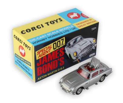 James Bond Aston Martin DB5 Corgi CG04204 scale 1:36