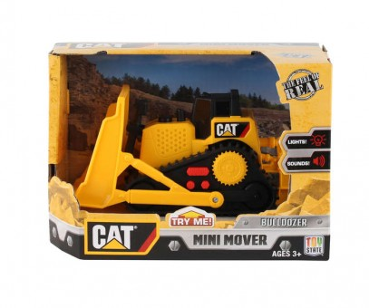 CAT Bulldozer With Sound & Lights Mini Mover Ages 3+ CAT34613