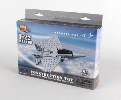 85 Piece F-22 Raptor Jet W/Action Figure BL14187 by Best-Lock