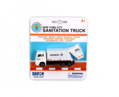 New York City 4.5 in Sanitation Department Garbage Truck RT8930
