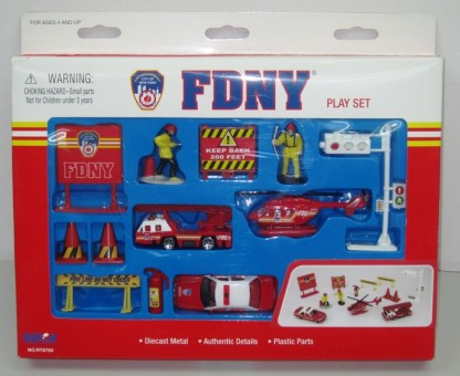 Fire Department of New York (FDNY) 13 Piece Gift Set RT8760