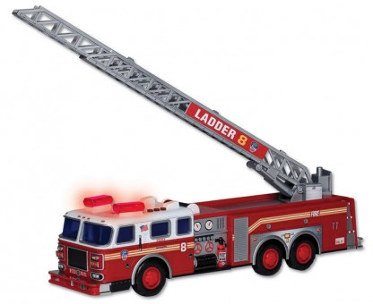 Fire Department of New York (FDNY) Ladder Truck w/ Lights & Sound RT8801