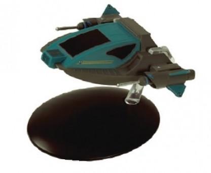 Starship Alice Alien Shuttlecraft Star Trek Universe die-cast Eagle Moss EM-ST0125