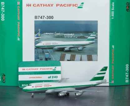 Cathay Pacifics B747-300 BB4-2015-001B BigBird YourCraftsman 1:400