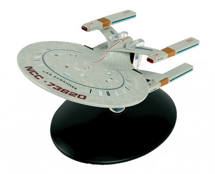 USS Ahwahnee Star Trek collection die cast by Eagle Moss EM-ST0108