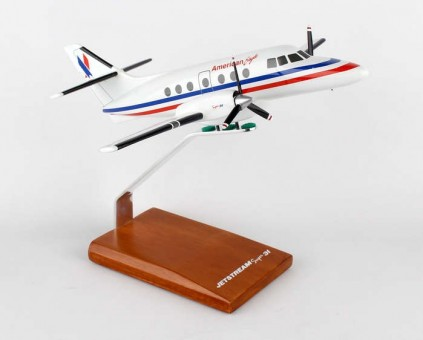 Sale! American Eagle BAE-31A Jetstream mahogany crafted Desktop Model G5248 scale 1:48