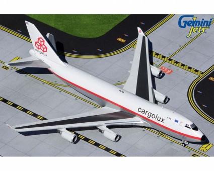 Cargolux Boeing 747-400F LX-NCL Gemini Jets die-cast GJCLX1947 scale 1:400
