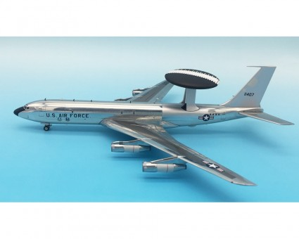 USA - Air Force Boeing  Sentry (707-300) 71-1407 Polished  With Stand IF137OO417P Scale  1:200