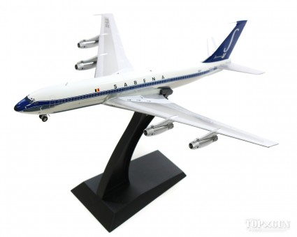 Sabena Boeing 707-300 OO-SJA stand InFlight IF707SN0718P scale 1:200