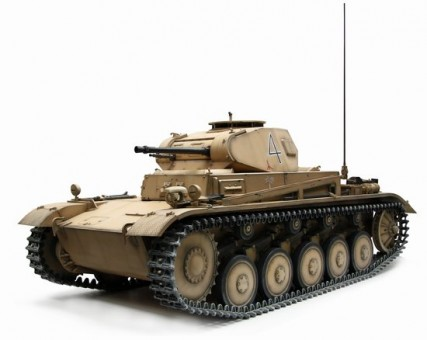 Pz.Kpfw.II Ausf.C DAK Huge and big size! Scale 1:6 DRF71455
