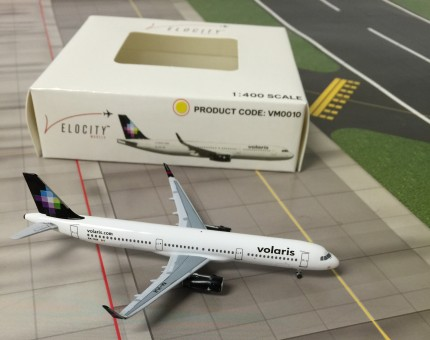 Volaris A321 First Mexican A321WL Reg# XA-VLH Sharklets Velocity Models  Scale 1:400
