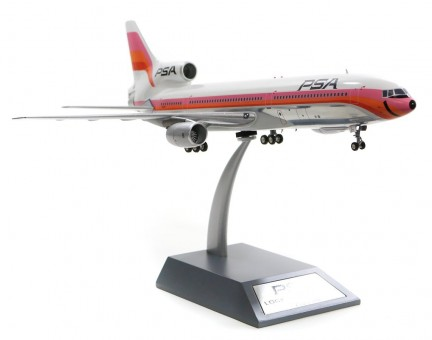 PSA Lockheed L-1011 N10112 Polished W/Stand  IF1011PSA02P Inflight200 Scale 1:200