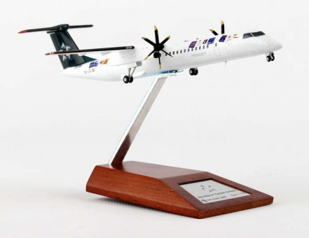 "Tyrolean ""Star Alliance"" Dash-8 Reg# OE-LGC w/ Stand JC Wings JC2AUA587 1:200"