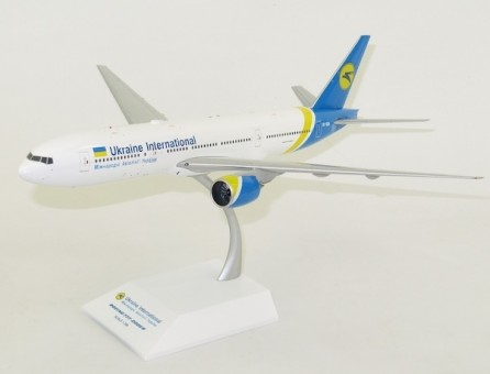 Ukraine International Boeing 777-200ER UR-GOA JC Wings LH2AUI120 Scale 1:200